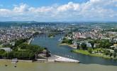 Panorama of Koblenz, Germany